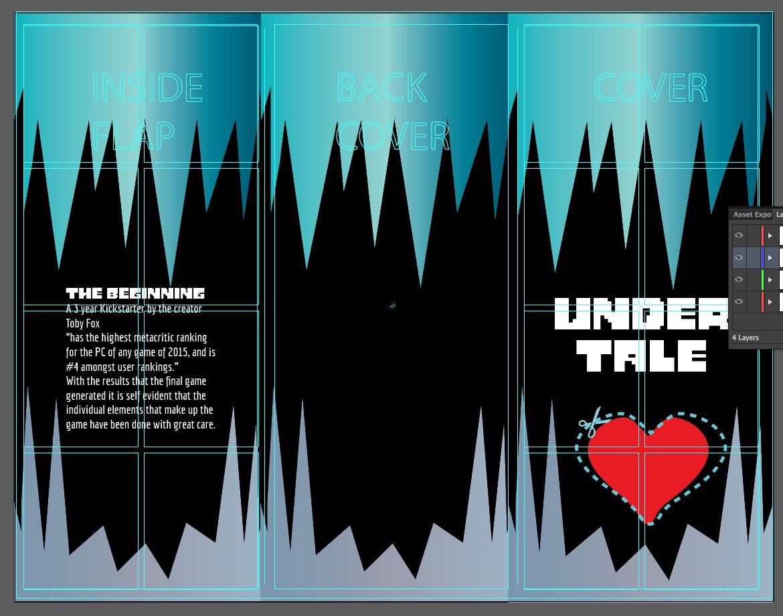 Undertale Brochure - J The Visualizer